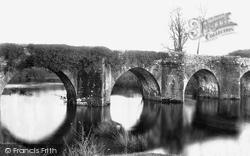 Staverton, Bridge 1889