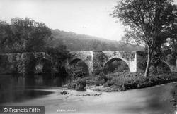 Staverton, Bridge 1890