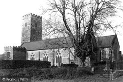 Staverton, Church Of St Paul De Leon 1889