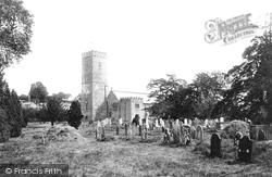 Staverton, Church Of St Paul De Leon 1896