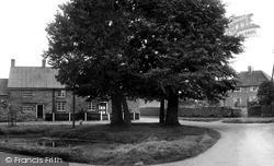 Staverton, The Village Pond c.1955