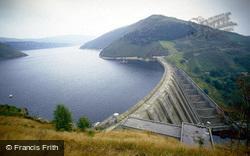 Staylittle, Clywedog Reservoir And Dam c.1995