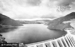 Staylittle, Clywedog Reservoir c.1960