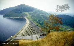 Llyn Clywedog Dam c.1990, Staylittle