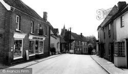 Stebbing, High Street c.1955