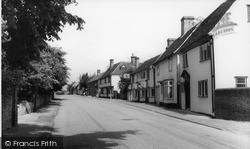 Stebbing, High Street c.1960