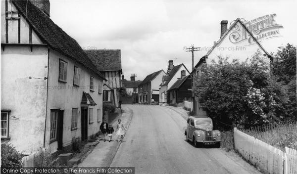 Photo of Stebbing, High Street c.1960