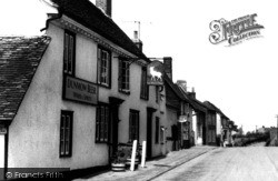 The White Hart c.1955, Stebbing