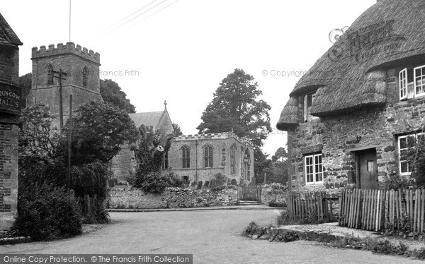 Steeple Aston, the Church c1955
