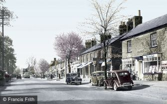 Stevenage, High Street 1952