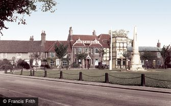 Stevenage, the Green c1955