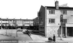 Stevenage, The Shops, Bedwell c.1960