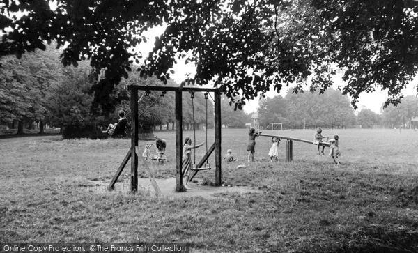 Steventon, the Green c1955