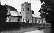 Steventon, the Church c1955
