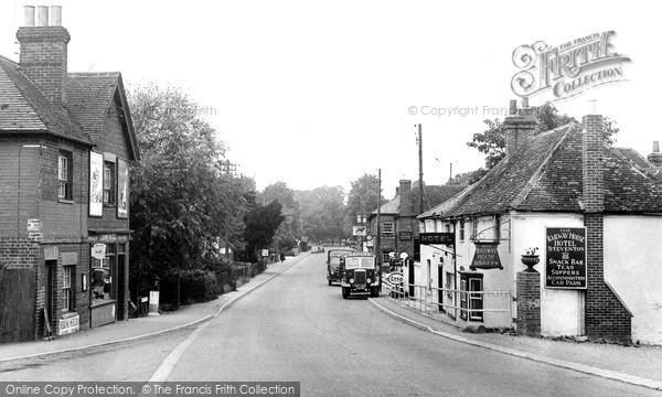 Steventon, High Street c1955