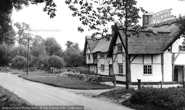 Steventon, Milton Lane c1955