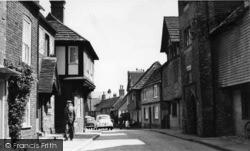 Steyning, Church Street c.1960