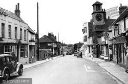 Steyning, High Street c.1955
