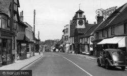 Steyning, High Street c.1960