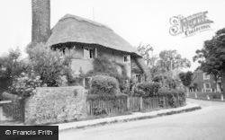 Steyning, Saxon Cottage c.1960