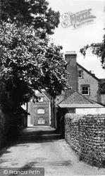 Steyning, School Lane c.1960