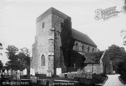 Steyning, St Andrew's Church 1889