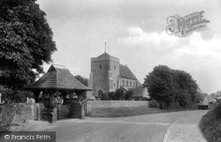 Steyning, St Andrew's Church 1914