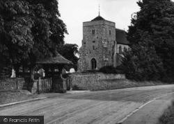 Steyning, St Andrew's Church c.1950
