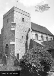 Steyning, St Andrew's Church c.1960