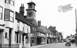 Steyning, The Clock Tower c.1950