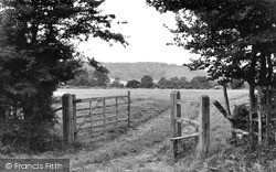 Steyning, The South Downs c.1955