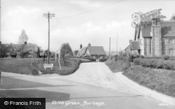 Stibb Green, The Village c.1955