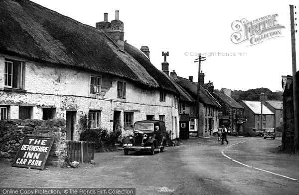Sticklepath, Village c1950