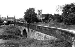 Church And Bridge c.1960, Stillingfleet