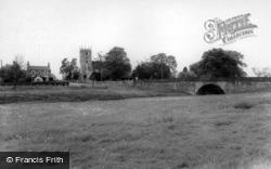 The Church And Bridge c.1960, Stillingfleet