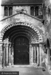 Stillingfleet, The Early Norman Church Door c.1965