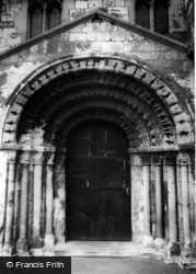The Early Norman Church Door c.1965, Stillingfleet