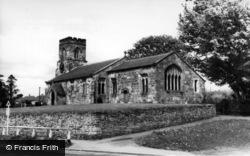 Stillington, The Church Of St Nicholas c.1960