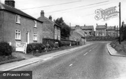 The Crossroads, Upper Stillington c.1960, Stillington