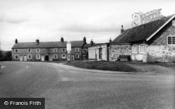 Stillington, Village Hall And Crossroads c.1960