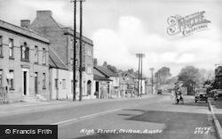 Stilton, High Street c.1955