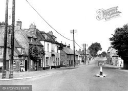 Stilton, North Road c.1955