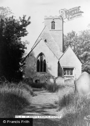 Stilton, St Mary's Church c.1955
