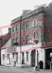 The Royal Restaurant, High Street c.1955, Stilton