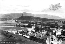 Stirling, Abbey Craig From Gowan Hills 1899