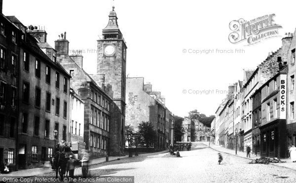 Stirling, Broad Street 1899