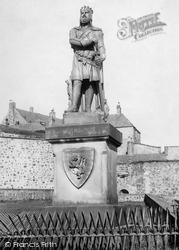 Stirling, Bruce Statue 1899