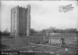 Stirling, Cambuskenneth Abbey And Tomb Of James III 1899
