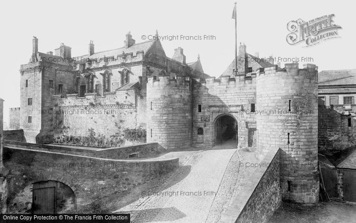 Stirling, Castle 1899