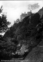 Stirling, Castle From Blackwalk 1899